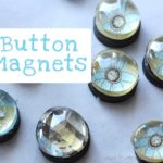 DIY Button Magnets from Love & Laundry