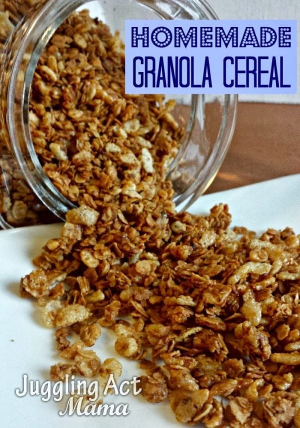 Homemade granola recipe juggling act mama homemade granola recipe ccuart Gallery