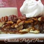 Chocolate Pretzel Pecan Pie