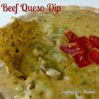 Beef Queso Juggling Act Mama