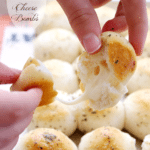 Garlic & Herb Cheese Bombs