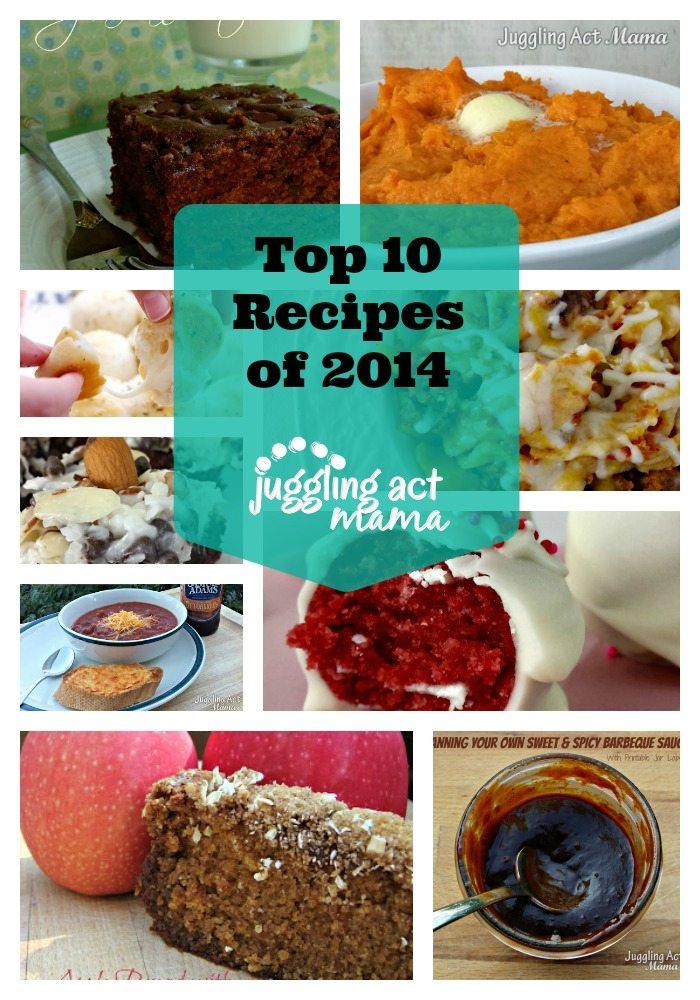 Top Juggling Act Mama Recipes of 2014