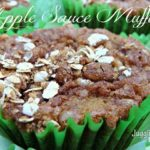 Applesauce Muffins with Brown Sugar Topping {GYBO}