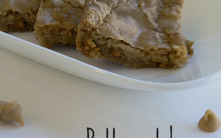 Butterscotch Brownies from Mom's Test Kitchen {Guest Post}