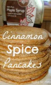 Cinnamon Spice Pancakes