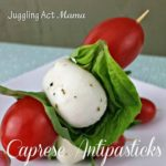 "Easy Caprese ""Antipasticks"" Appetizer"