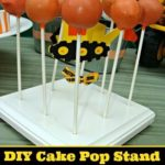 DIY Cake Pop Stand Tutorial & Template