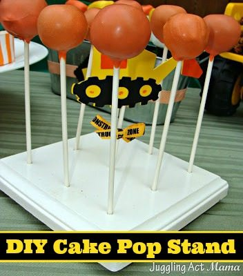 Diy cake pop stand tutorial template juggling act mama for Party wall act template