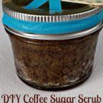 Coffee Sugar Scrub Stocking Stuffer