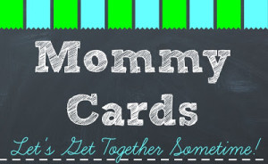 Back to School Mommy Card {Free Template}