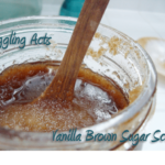 DIY Vanilla Brown Sugar Scrub