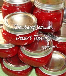 Strawberry Jam… er, Dessert Topping!