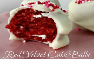 Red Velvet Cake Balls: Easy Recipe – VIDEO