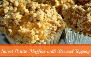 Sweet Potato Muffins with Streusel Topping