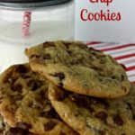 Toffee Chocolate Chip Cookies, with Cookie Party Link Up and $50 Target Giveaway