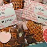 Valentine's Day Trail Mix & Treat Bag Toppers