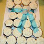 Bridal Shower Cup Cake Wedding Dress
