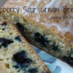 Blueberry Sour Cream Bread