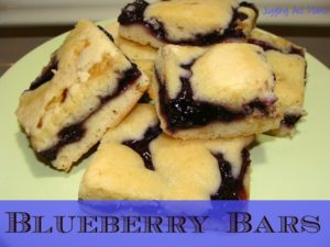 Easy Blueberry Bars