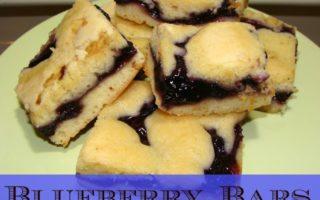 Easy Blueberry Bars