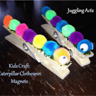 Clothes Pin Catepillars