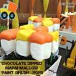"Marshmallow ""Paintbrush"" Pops"