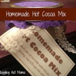 Hot Cocca Mix Gift with Printable Labels