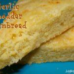 Garlic Cheddar Cornbread