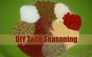 Homemade Mild Taco Seasoning