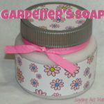 DIY Gardener Soap with Free Printable Gift Tag