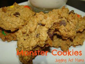 Toffee Monster Cookies