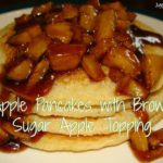 Apple Pancakes with Brown Sugar Apple Compote