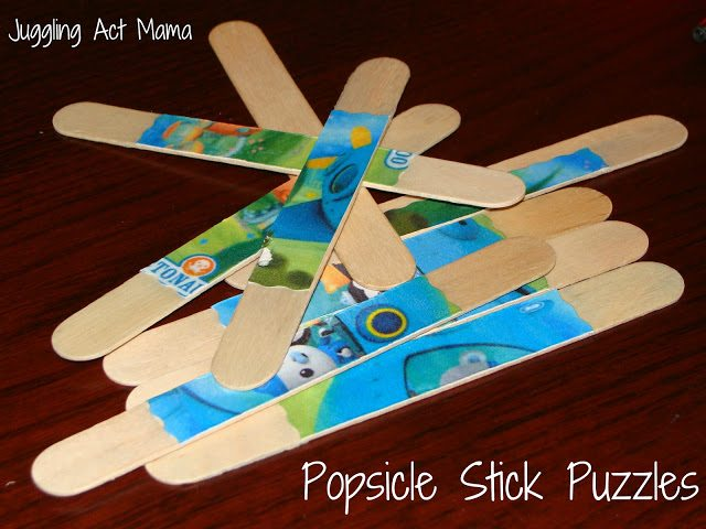 Popcicle Stick Puzzles