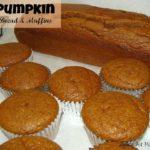 Pumpkin Bread & Muffins