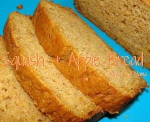 Squash & Apple Bread