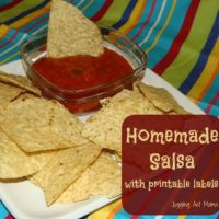 Homemade Salsa via Juggling Act Mama