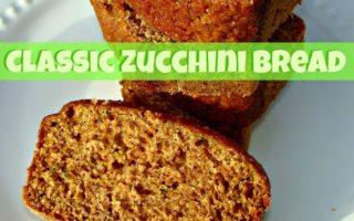 Classic Zucchini Bread