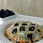 Blueberry Pie Tarts #piday