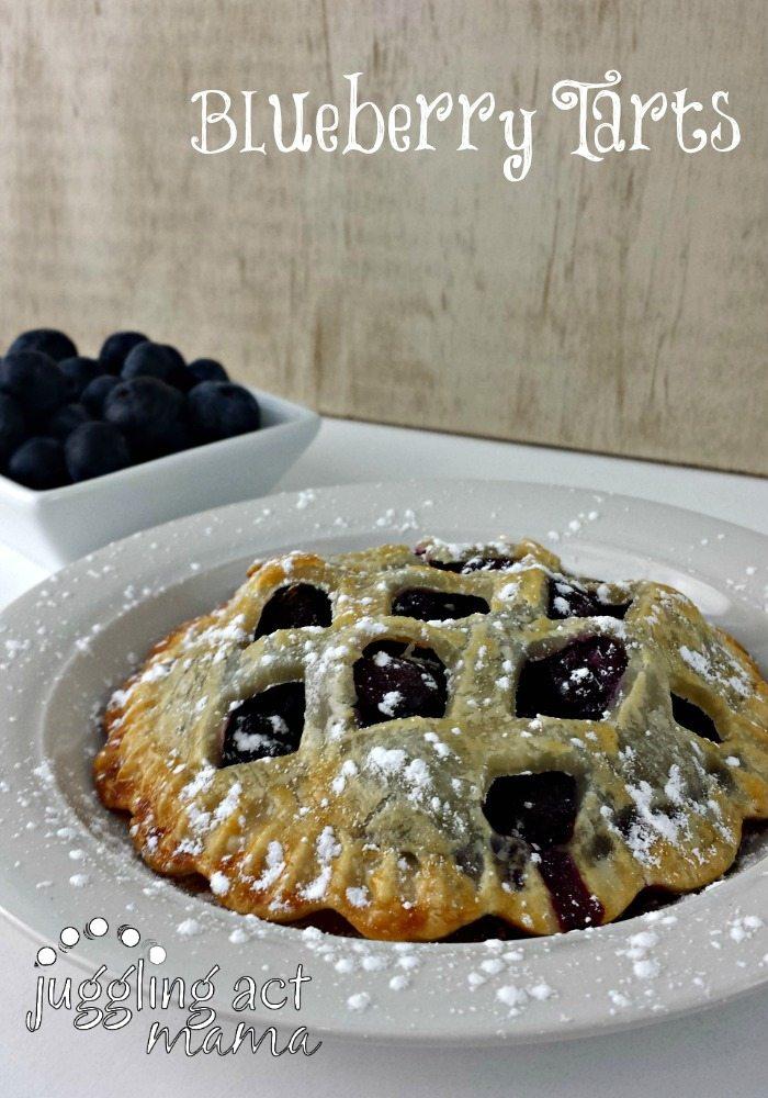 Blueberry Pie Tart