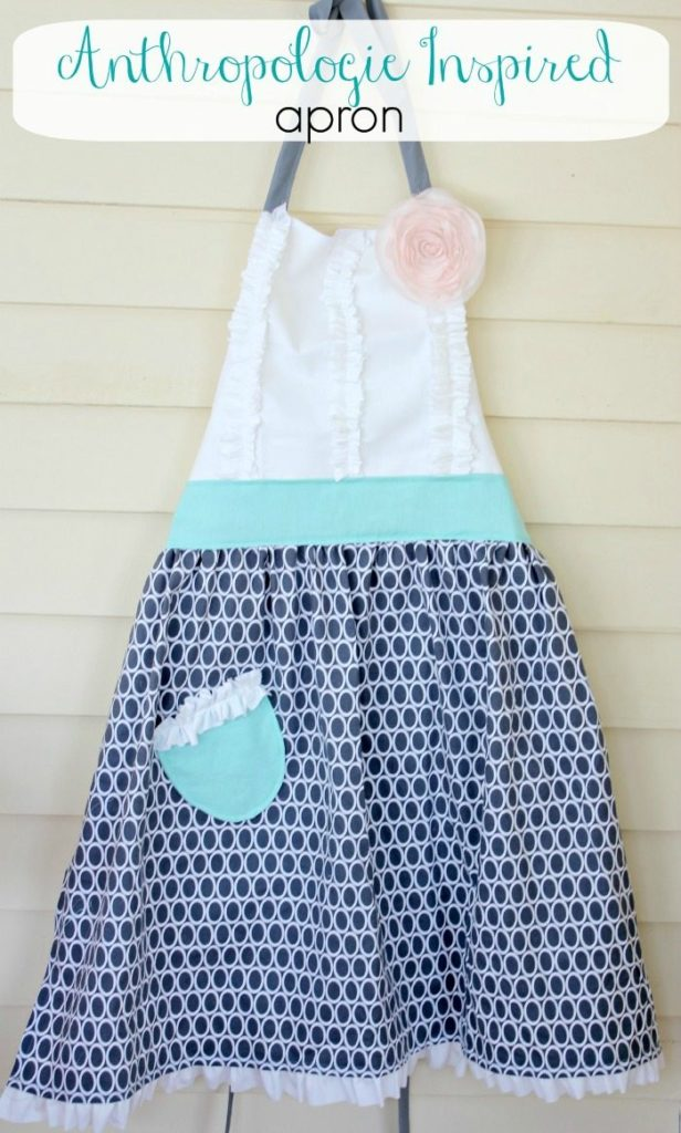 Anthro inspired Tea and Crumpets Apron