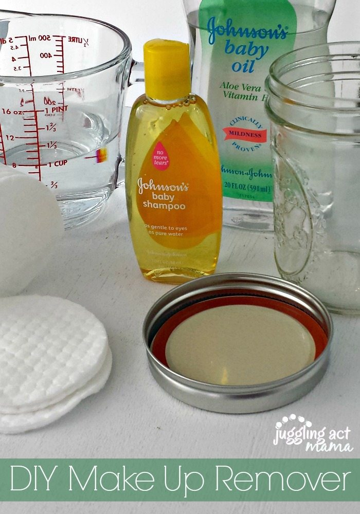 Easy and cheap DIY Makeup Remover Pads via Juddling Act Mama