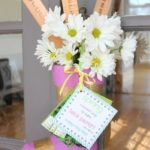 May Day Boot {with free printable gift tag}