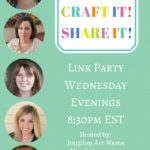 Cook it! Craft it! Share it! Link  Party #14 Link Party