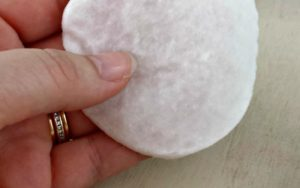 DIY Make Up Remover Pads via Juggling Act Mama