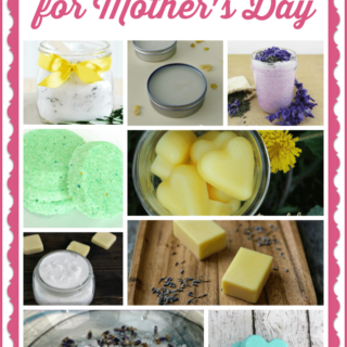 20 Fabulous Homemade Gifts for Mother's Day via Juggling Act Mama