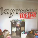 Playroom Re-Do from Mommy Life After Ph.D