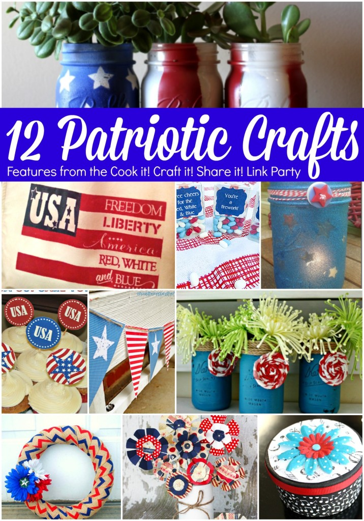 12 Patriotic Crafts via Juggling Act Mama
