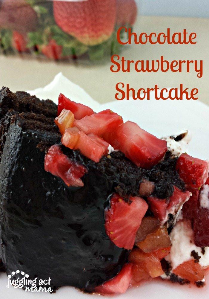 Chocolate Strawberry Shortcake with #DriscollsBerries ...