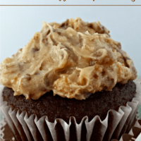 Chocolate Toffee Chip Frosting from Juggling Act Mama as seen on Lady Behind the Curtain