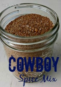 Cowboy Spice Mix on Miss Information